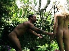 father-daughter play adam and eve