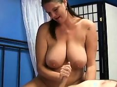 mature a boy to cum with a handjob by WF